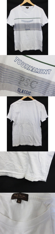 半袖 プリント Tシャツ 白 M
