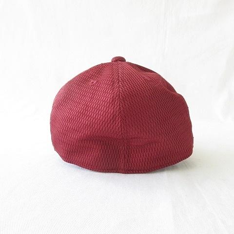 デサント DESCENTE 小物 帽子 キャップ 野球 スポーツ MK ロゴ 刺繍 レッド ホワイト 赤 白 S キッズ