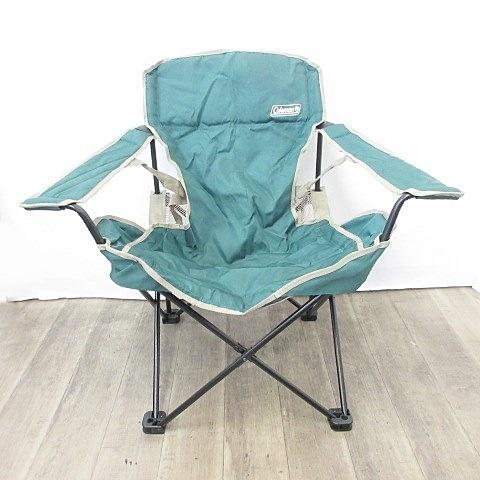 コールマン COLEMAN ウィングチェア ワンタッチテーブル セット 椅子 折りたたみ アウトドア キャンプ レジャー ポリエステル スチール 緑 グリーン その他