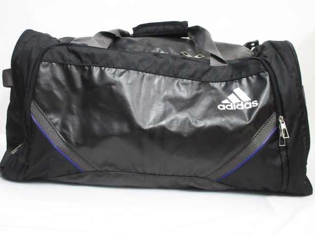 アディダス adidas ボストンバッグ ショルダー 2WAY ポリエステル ロゴ LOAD spring 黒 メンズ