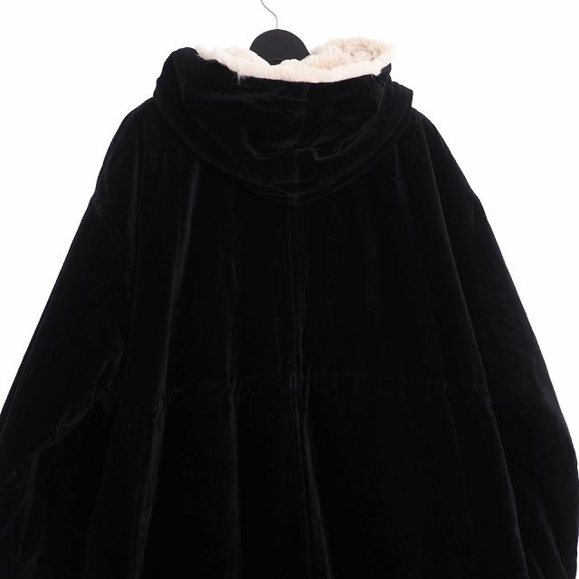 ダイエットブッチャースリムスキン DIET BUTCHER SLIM SKIN 18AW reversible over sized veiveteen military coat リバーシブル ミリタリーコート ボア 3 ブラック 黒 D183H227 メンズ
