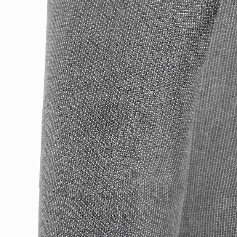 マーガレットハウエル MARGARET HOWELL コットン ストライプ ワイドスラックス パンツ 2 グレー レディース
