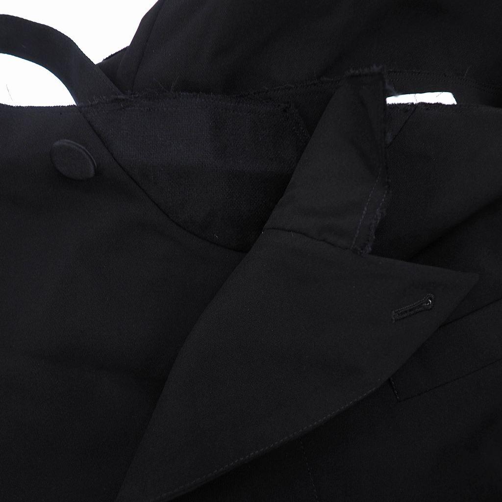 未使用品 ファセッタズム FACETASM 18SS オーバーオール サロペット つなぎ 4 ブラック 黒 RB-PT-M07 メンズ レディース