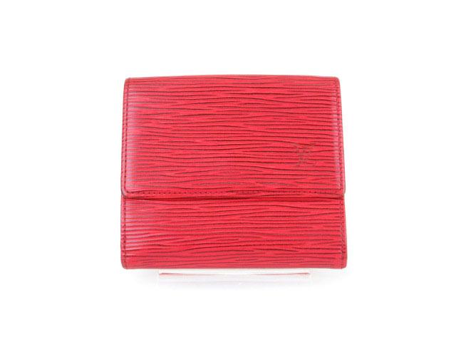 designer fashion d1dc0 3736f ルイヴィトン LOUIS VUITTON エピ ポルトフォイユ エリーズ 財布 三つ折り 赤 レッド /kt レディース
