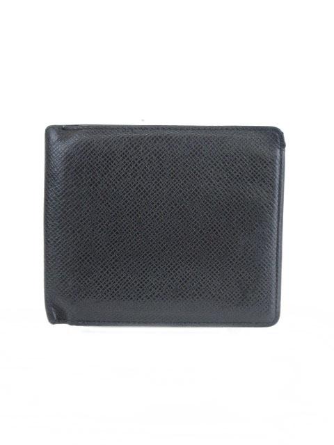 promo code 46e1c 5e89b ルイヴィトン LOUIS VUITTON ポルトビエ カルトクレディ タイガ 財布 二つ折り 札入れ 黒 ブラック M30462 /mm メンズ