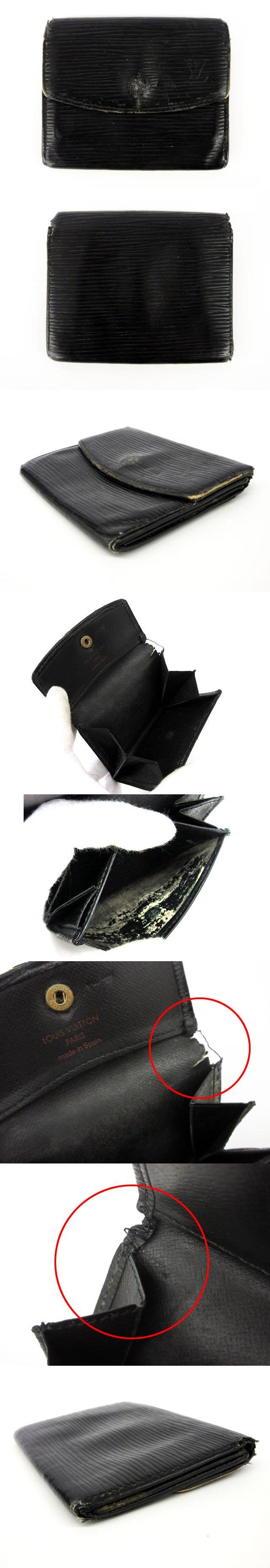 ポルト モネ・サーンプル エピ 財布 コインケース 小銭入れ 黒 ブラック M63412 /an