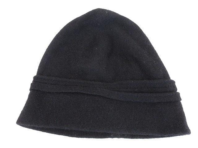 quality design e6dd9 f056c ディオールオム Dior HOMME 帽子 ニット帽 キャップ キャメル 黒 ブラック /kt メンズ