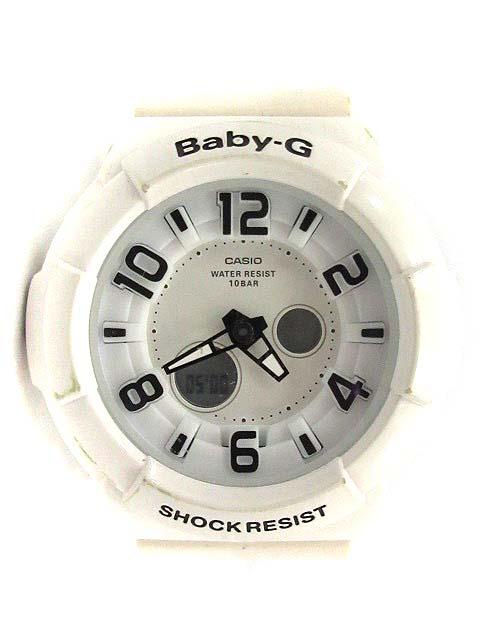 finest selection 9b3a5 22271 ベビージー Baby-G 腕時計 クォーツ ステンレススチール BGA-132 白 /YI40 ●D レディース