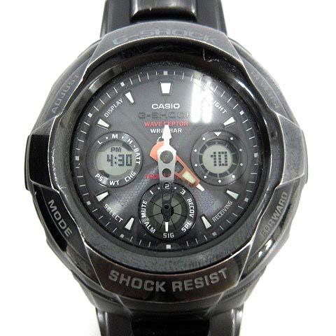 new product 488f9 8a746 カシオジーショック CASIO G-SHOCK RESIST 腕時計 電波 ソーラー アナデジ ステンレススチール GW-1800BDJ 黒  /YI22 ■SM メンズ