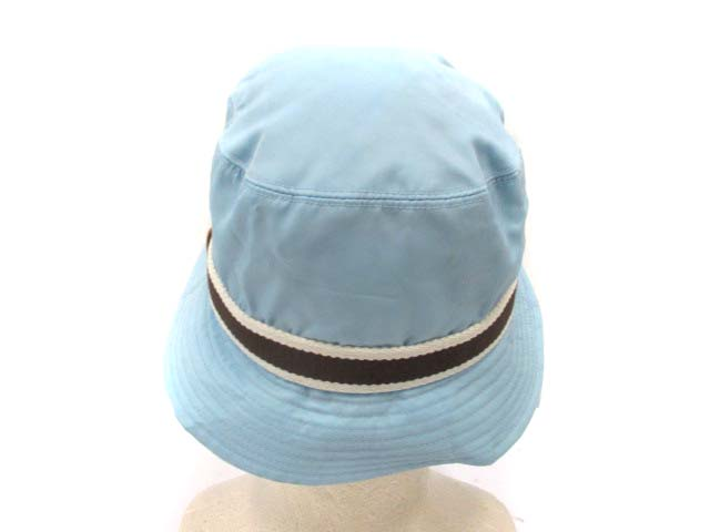 7fb2adaa97fa ... コーチ COACH 帽子 ハット ナイロン 水色 S /DJ ○ レディース ...