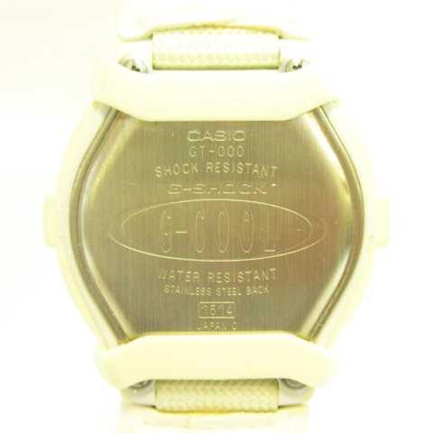 カシオジーショック CASIO G-SHOCK GT-000-7G G-COOL 腕時計 デジタル クオーツ ホワイト シルバー MH15 メンズ レディース