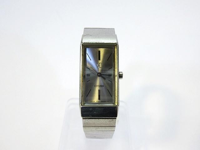 8f3cca42b3 シチズン CITIZEN 腕時計 クォーツ アナログ XC クロスシー 3針 SS 5431-H23214 ジャンク レディース