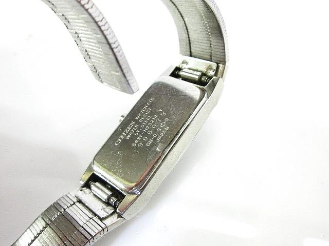 b80199477d ... シチズン CITIZEN 腕時計 クォーツ アナログ XC クロスシー 3針 SS 5431-H23214 ジャンク レディース