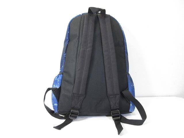 0f31b843e7a4 リュック リュックサック デイパック 鞄 宇宙 コズミック コスモ 柄 総柄 ブルー 青 メンズ レディース ...