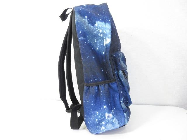 1bab08d3f0e4 ... リュック リュックサック デイパック 鞄 宇宙 コズミック コスモ 柄 総柄 ブルー 青 メンズ レディース ...