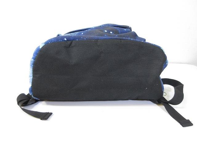 8a46e7879116 ... リュック リュックサック デイパック 鞄 宇宙 コズミック コスモ 柄 総柄 ブルー 青 メンズ レディース