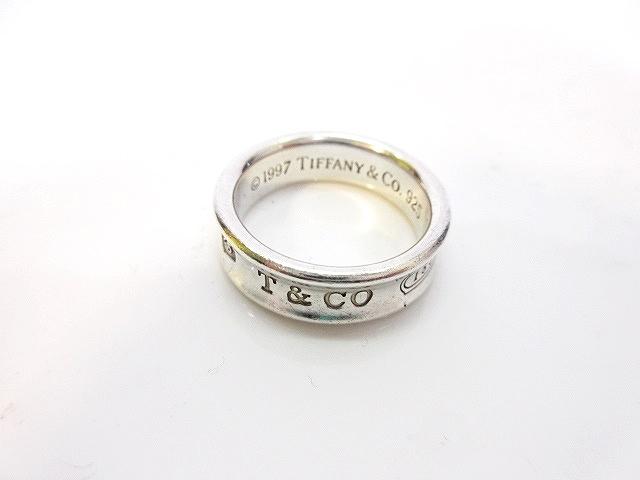 big sale e4ae2 f4323 ティファニー TIFFANY & CO. 指輪 リング 1837 シルバー925 刻印 銀色 シルバー 20号 メンズ