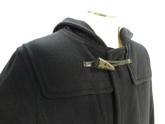 タケオキクチ TAKEO KIKUCHI ダッフル コート ショート フーデッド ジャケット 2 ネイビー 紺 メンズ