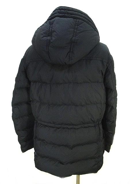 モンクレール MONCLER 美品 BIEVRE ダウン コート ジャケット 黒 ブラック 2 国内正規 レディース