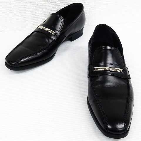 db56261ad976d リーガル REGAL 2858 ビジネスシューズ ローファー 革靴 レザー 黒 26 ...