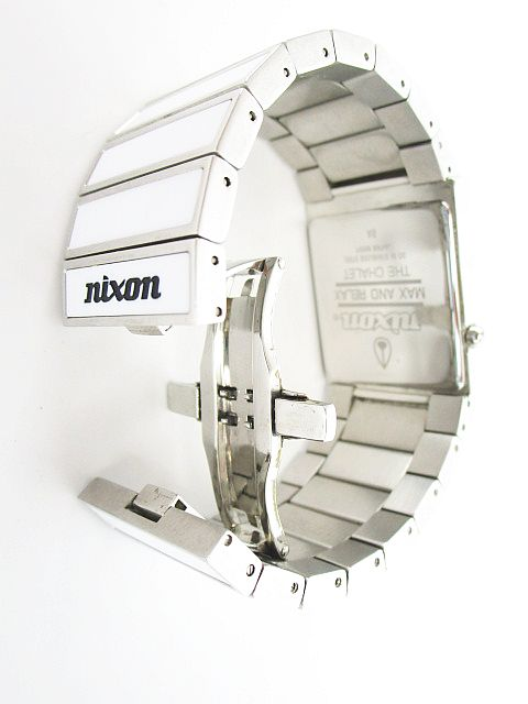 ニクソン NIXON MAX AND RELAX THE CHALET 腕時計 アナログ クウォーツ 白 メンズ レディース