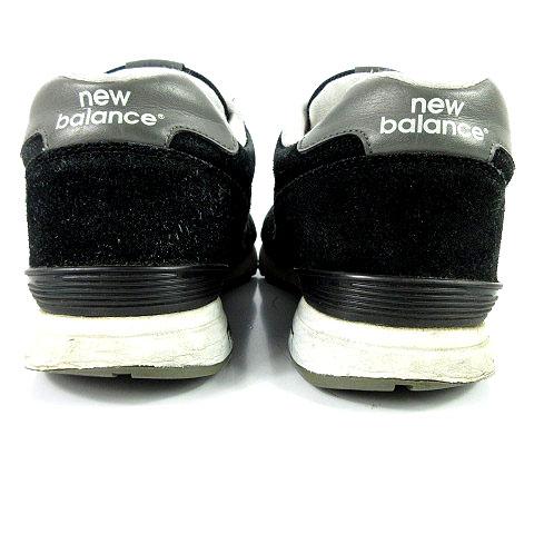 1d4fba5ce48ea6 ... ニューバランス NEW BALANCE ML565BC スニーカー スエード ブラック 黒 グレー 26.5 メンズ