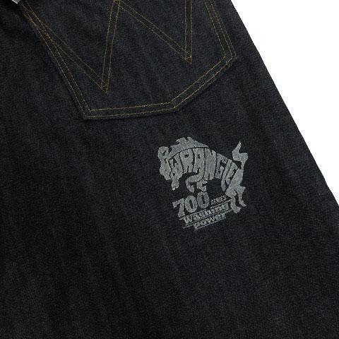 未使用品 ラングラー WRANGLER SERIES 700シリーズ ジーンズ デニム ロゴ 日本製 インディゴ 28 メンズ