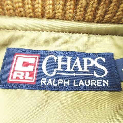 チャップス CHAPS ラルフローレン ベロア リブ ステンカラー ジャケット ヴィンテージ アウター ビンテージ L ブラウン メンズ メンズ