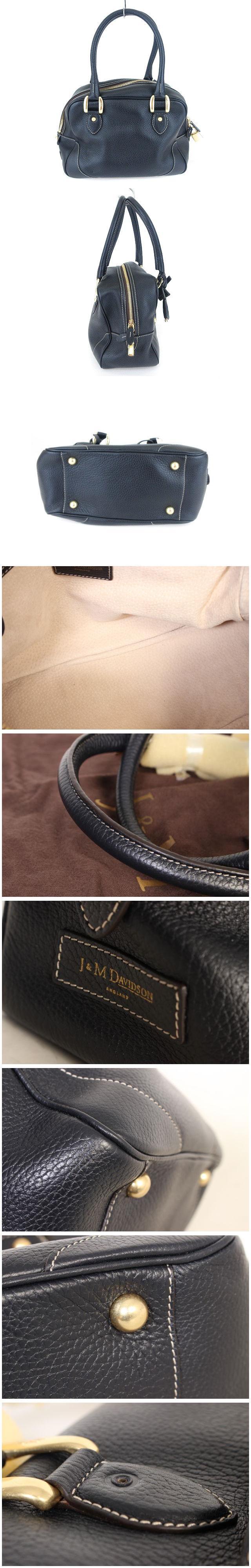 MINI MIA バッグ ハンド チャーム レザー 紺 ネイビー /mm0524