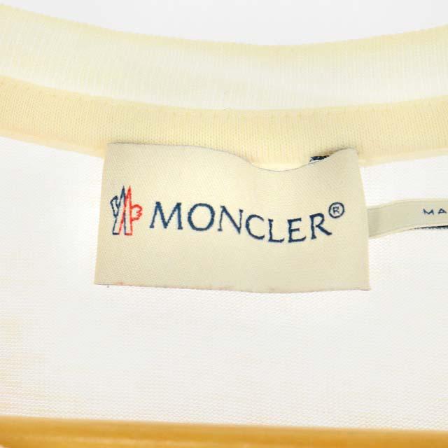 モンクレール MONCLER 15SS MAGLIA T-SHIRT Tシャツ ボーダー カットソー 半袖 14anni164cm 赤 白 レッド ホワイト /AO キッズ