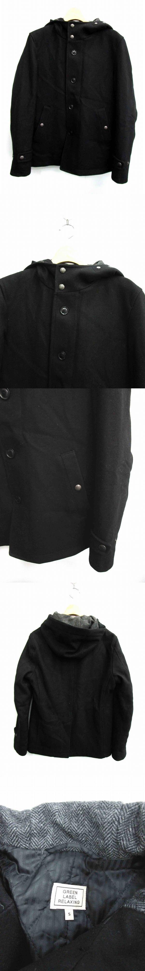 コート 中綿 フード付き S 黒 /HK ■CA