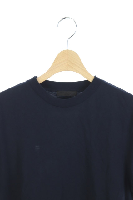 26dd49d8212d プラダ PRADA Tシャツ 半袖 M 紺 /HS ○D メンズ 169-301807310098 ...