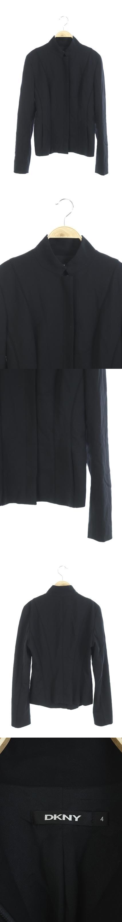 ジャケット ジップアップ 4 黒 /HA ■CA7