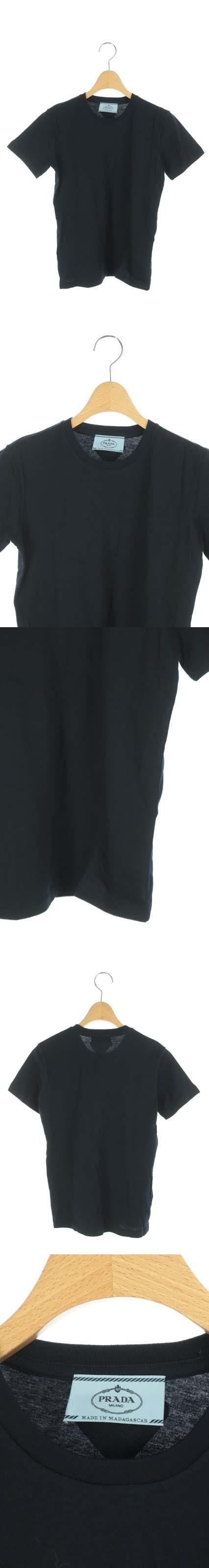Tシャツ カットソー 半袖 S 紺 /DF ■OS