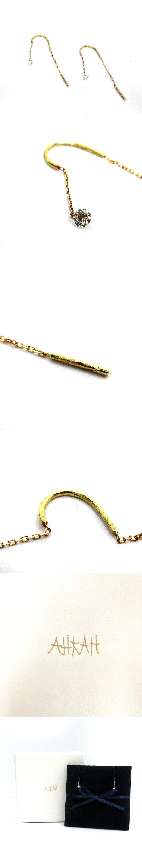 ピアス アクセサリー スイングダイヤ K18YG イエローゴールド /AK