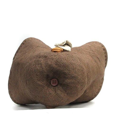 エバゴス EBAGOS かごバッグ ハンド 茶 ブラウン /AK15 レディース