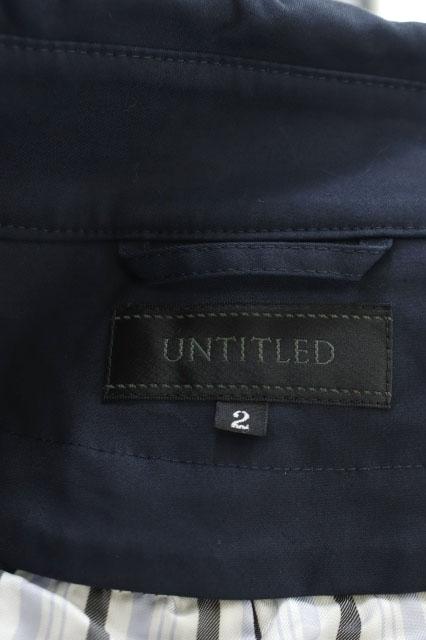 アンタイトル UNTITLED トレンチコート 中綿ライナー付き ベルト付き 2 紺 ネイビー /ES ■OS レディース