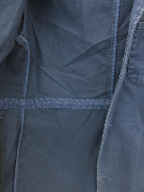 アメリカンラグシー AMERICAN RAG CIE コモンウェア COMMONWARE コート スプリング 薄手 ロング丈 オープンカラー シングルボタン 無地 紺 ネイビー /FF17 メンズ