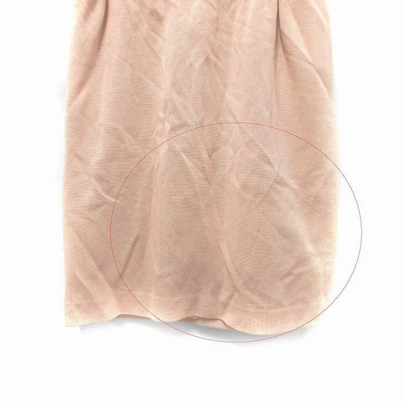 フォクシー FOXEY セットアップ 上下 2点セット カットソー スカート ニット 長袖 ひざ丈 台形 ウール F 42 ピンク /MF レディース