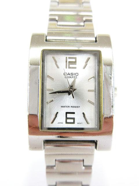 b4747c6f04 カシオ CASIO 腕時計 ウォッチ クオーツ アナログ シルバー LTP-1284 /nn レディース