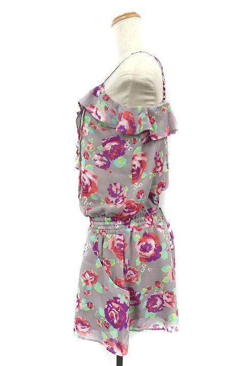 ビバユー VIVA YOU パンツ オールインワン コンビネゾン キャミソール 花柄 4 マルチカラー /RI6 レディース