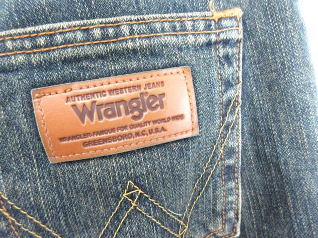 Wrangler パンツ デニム Gパン ジーパン ジーンズ ジップフライ クロップド 29 グレー 灰色 /YT1 レディース