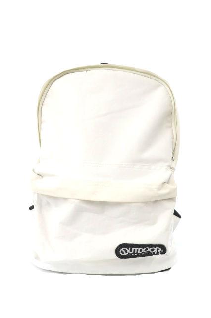 bd5b833911aa アウトドアプロダクツ OUTDOOR PRODUCTS バッグ リュックサック ナイロン 白 ホワイト /MK メンズ