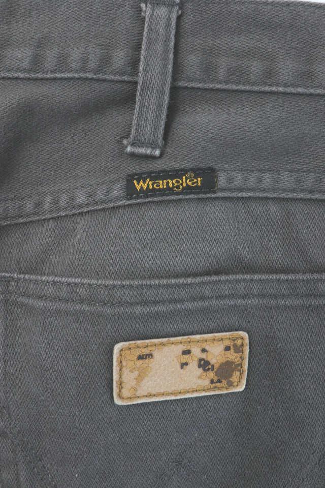 ラングラー WRANGLER パンツ カラーデニム ジップフライ グレー /MK メンズ