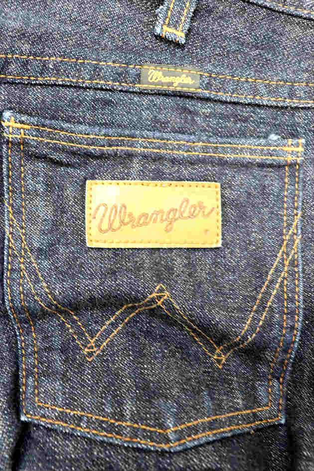 ラングラー WRANGLER パンツ ストレート デニム ジーンズ ジップフライ 28 紺 ネイビー /RI3 メンズ