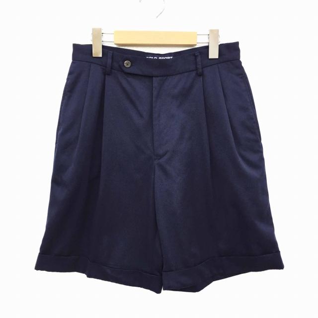 ポロスポーツ POLO SPORT ラルフローレン パンツ ショート ハーフ 8 紺 ネイビー ☆K☆ レディース