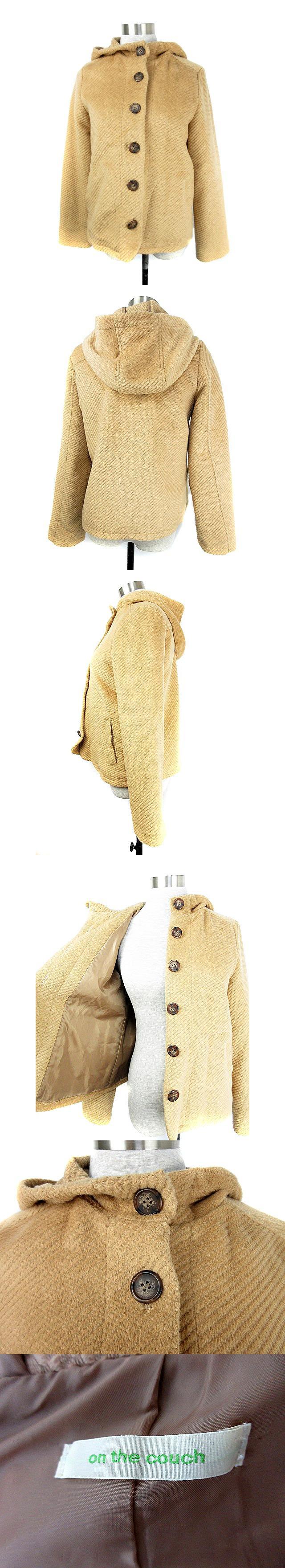 コート ショート M 茶 ブラウン /M1