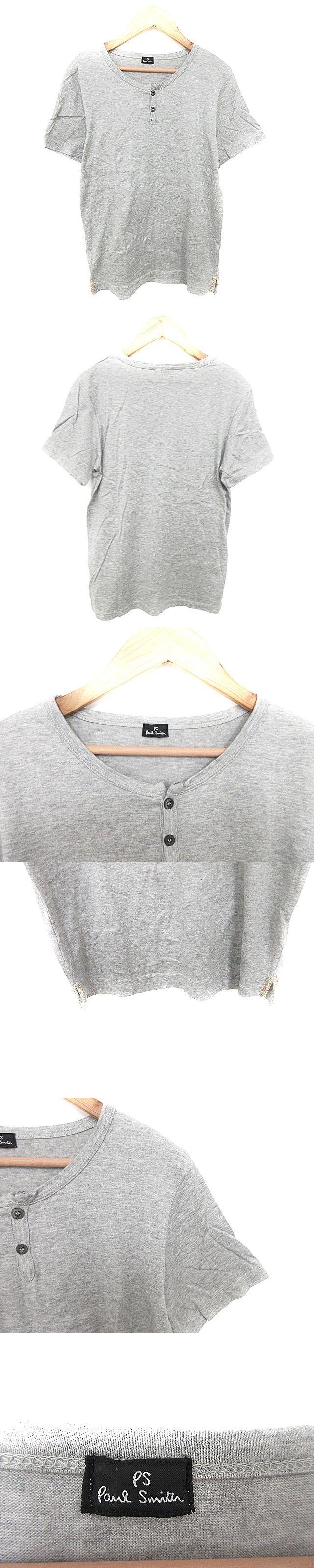 Tシャツ カットソー 半袖 ヘンリーネック /AAO38