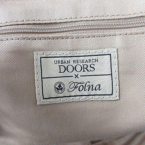 アーバンリサーチ ドアーズ URBAN RESEARCH DOORS フォルナ Folna かごバッグ ハンド トート ベージュ /AAM6 レディース