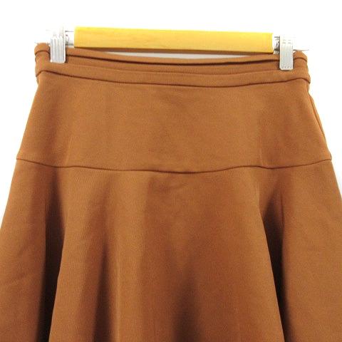 ミスティック mystic スカート フレア ミニ F 茶色 ブラウン /AAM28 レディース